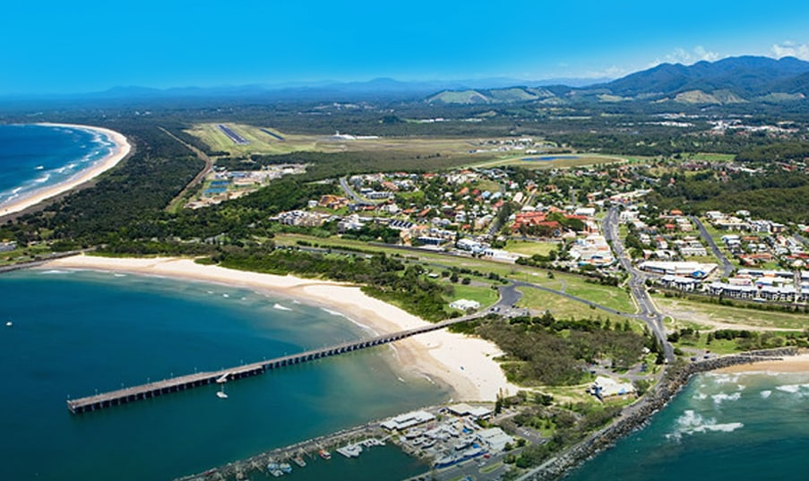 Coffs Harbour aerial image