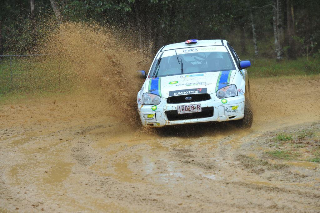 Mark Beard Subaru RS (Bruce Thomas pic)